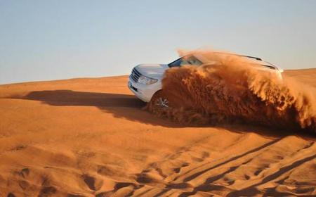 Dubai: halbtägige Geländewagen-Wüstensafari & Barbecue