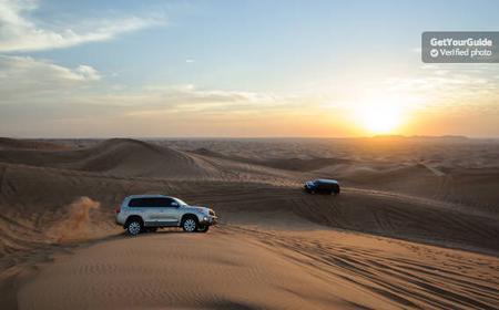 Desert Safari & Camp Dinner from Dubai/Ras al-Khaimah
