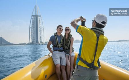 Dubai: 75- or 90-Minute Sightseeing Boat Tour