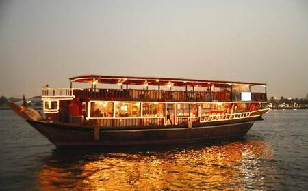 Dubai Creek: 3-Hour Dhow Boat Cruise with Hotel Pick-up