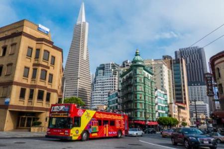 San Francisco Hop-On Hop-Off Bus Tours