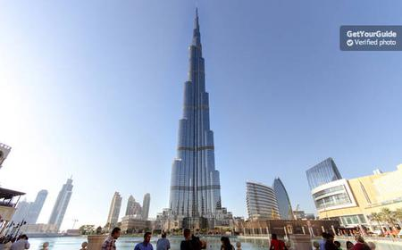 Burj Khalifa Tickets with Hotel Pick-Up and Drop Off