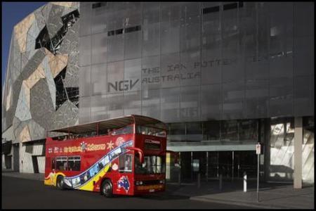Melbourne Hop-On Hop-Off Bus Tour Ticket