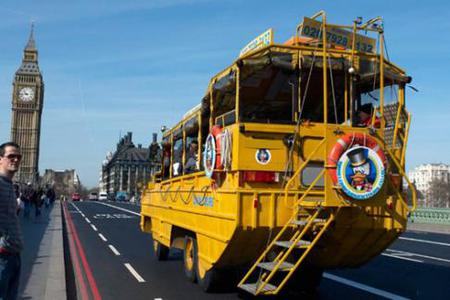 London Duck Tours - Combo Tickets