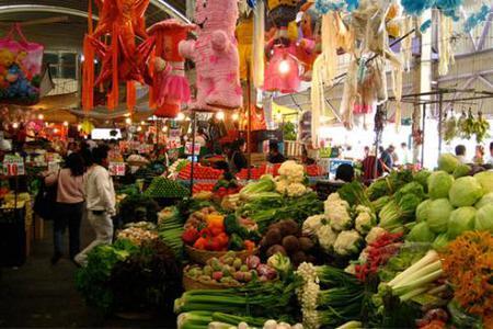 Markets Tour - Mexico City