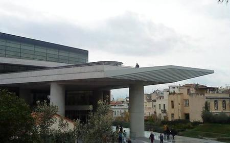 New Acropolis Museum Entrance with Guided Tour