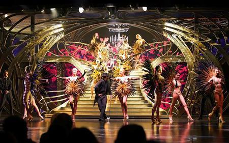 Paris Illuminations and Lido Cabaret, by minibus