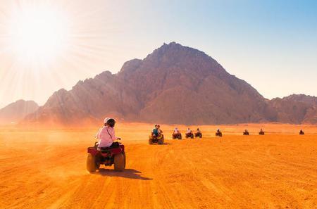 3-Hour Desert Quad Bike Safari from Hurghada