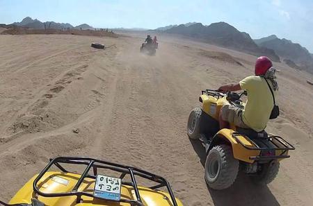 5-Hour Quad Bike Safari in Hurghada