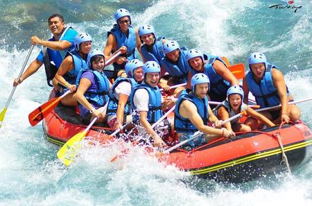 White Water Rafting Adventure with Lunch From Side