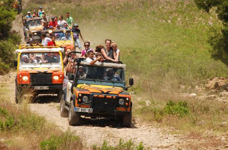 Jeep Safari and White Water Rafting Day Tour from Belek