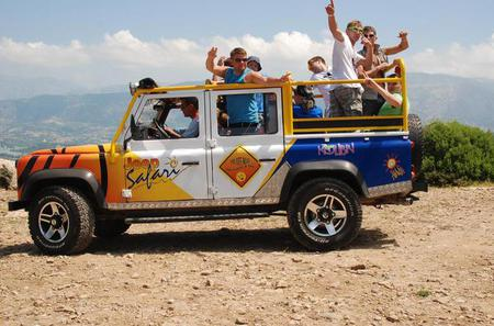 Jeep Safari and White Water Rafting Day Tour