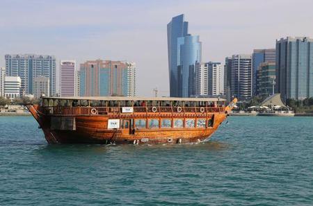Abu Dhabi Marina Sightseeing Dhow Cruise Tour