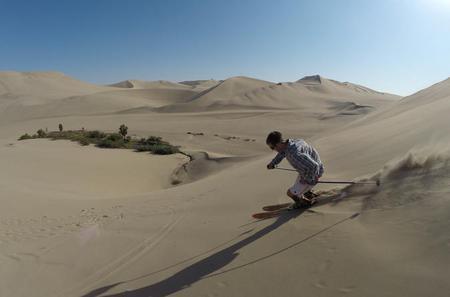 SandSkiing Experience in Ica