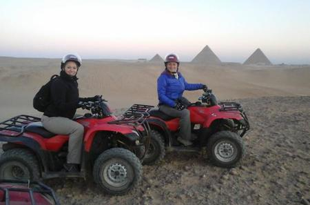 Guided Tour to Giza pyramids With Quad Bike