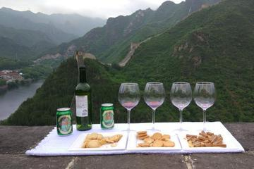 Party on Beijing Untouched Great Wall with Lunch and Wine Tasting