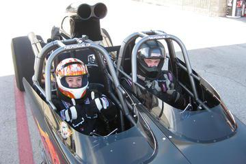 Ride-Along Dragster Experience At Charlotte Motor Speedway
