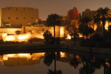 Luxor Shore Excursion: Temples of Karnak Sound and Light Show with Private Transport