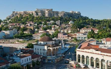 Athens Highlights: 4-hour Walking Tour with Coffee