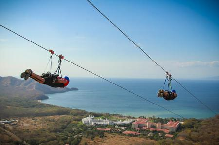 Diamante Adventure Park Ocean View Zipline