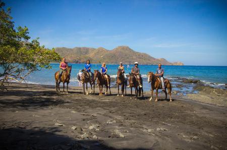 Horseback Riding at Diamante Eco Adventure Park