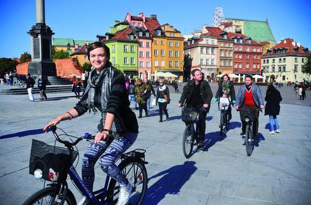 3 Hour Warsaw City Bike Tour