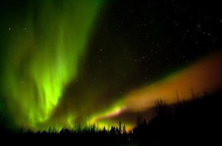 Northern Lights Aurora Borealis Picnic By Car in Rovaniemi