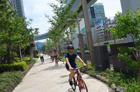 Small-Group Tokyo Local Biking Tour