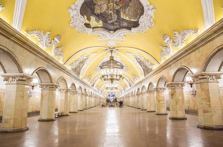 Moscow Metro Tour