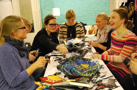 Upcycling-Design Workshop in Helsinki