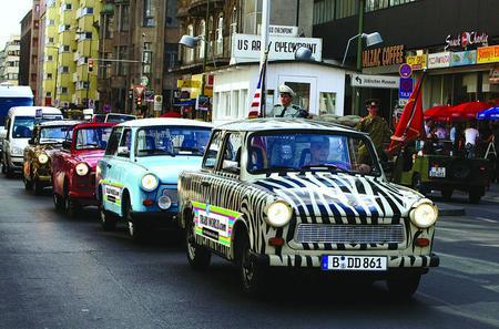 Berlin City Live-Guided Self-Drive Trabi Safari Tour