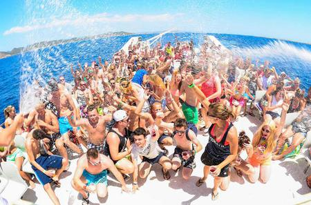 Adult-Only Cancun Party Cruise to Isla Mujeres