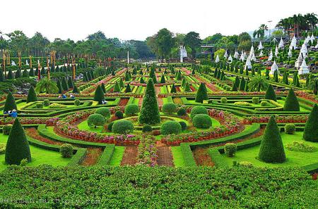 Half-Day Nong Nooch Village Garden Tour from Pattaya