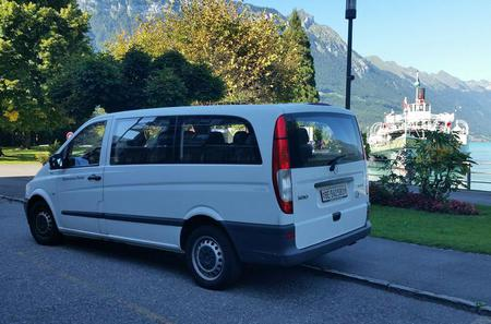 Interlaken Private Tour up to 13 persons Mountains Cows Thun Lake and Brienz Lake