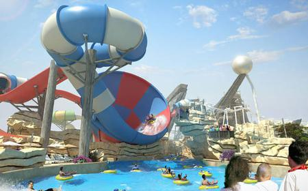 From Abu Dhabi: Yas Waterworld Tickets and Transfer