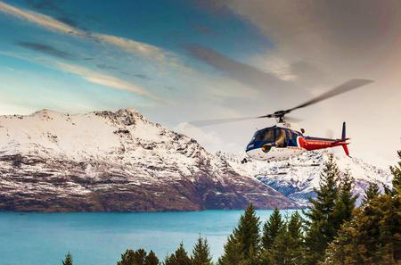 Southern Glacier Experience Helicopter Flight from Queenstown