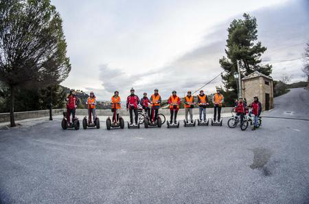 Skip the Line: Granada Alhambra Walking Tour with Albaicin and Sacromonte Segway or Electric Bike Tour