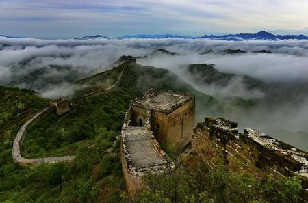 Group Hiking Tour From Jinshangling to Simata Great Wall West With Lunch Inclusive