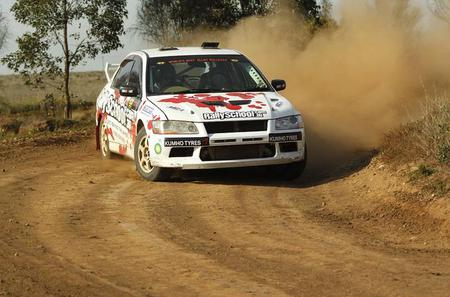 Ipswich Rally Car Drive 8 Lap and Ride Experience