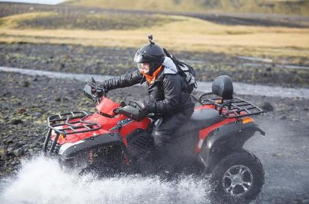 South Coast Private Tour from Reykjavik with 2 hours of ATV Quad biking