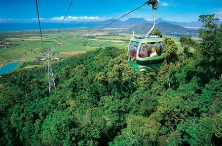 Cairns Shore Excursion: Small-Group Skyrail Rainforest Cableway and Kuranda Railway Day Trip Including Lunch