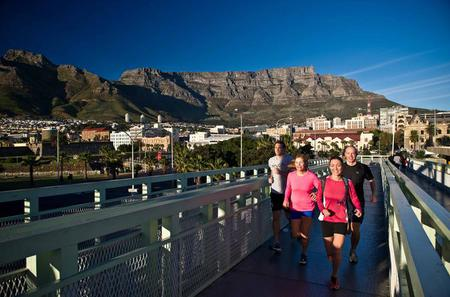 Historical City Running Tour of Cape Town