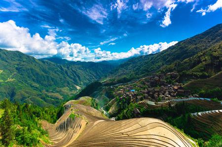One-day Private Tour of Longji Terraced Rice Fields and Ping'an Zhuang Ethnic Village from Guilin