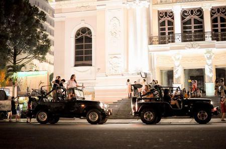 Jeep Tour Saigon by Night