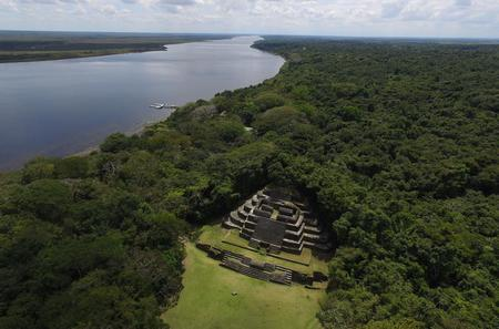 Lamanai Maya Temple and Baboon Encounter from Belize City