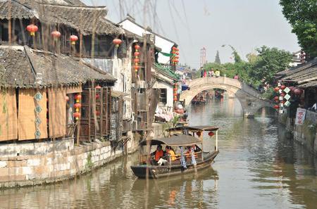 Private Day Trip: Zhujiajiao Water Town and HuangPu River Cruise