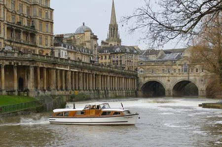 20-Minute Bath River Cruise including Pulteney Weir