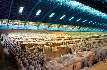 Classic Xi'an Day Tour of Terracotta Warriors and Huaqing Hot Spring