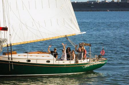 Private San Diego Tour on Classic Sailboat