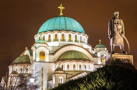 Belgrade City Highlights Half-Day Sightseeing Walking Tour